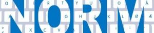 blå logo